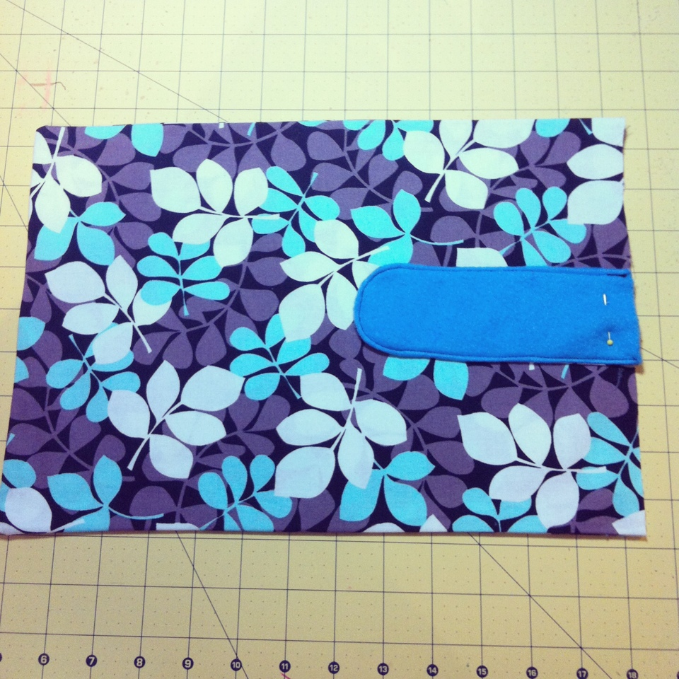 DIY 1 Hour Laptop Sleeve Sewing Tutorial 7