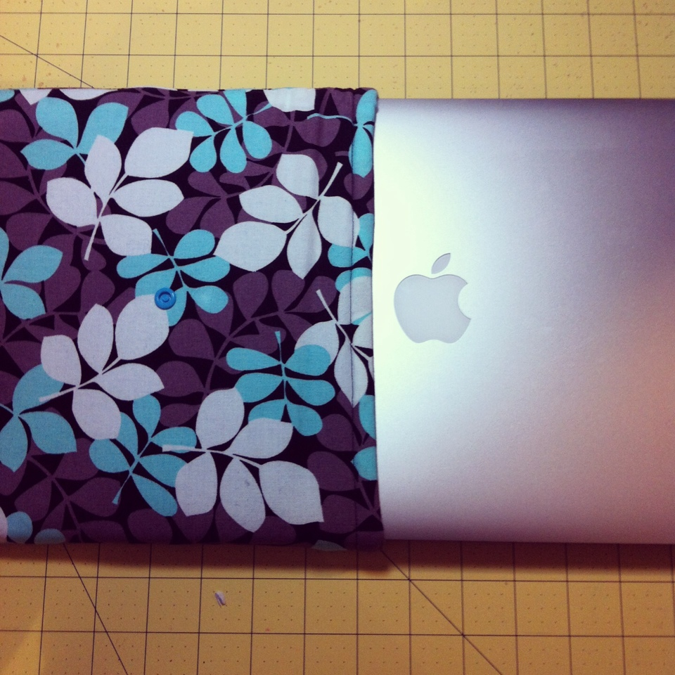 DIY 1 Hour Laptop Sleeve Sewing Tutorial Final