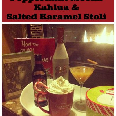 Holiday Cocktail Recipes Using Peppermint Mocha Kahlua and Salted Karamel Stoli