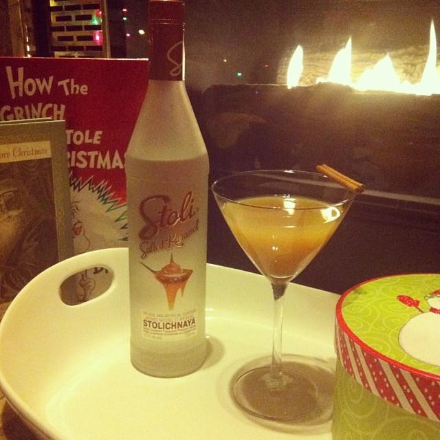 Holiday Cocktail Recipes Using Peppermint Mocha Kahlua and Salted Karamel Stoli 2