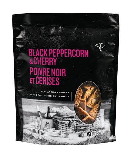 President's Choice Black Peppercorn and Cherry Artisan Crisps