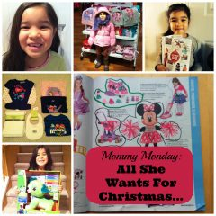 #SearsMom Monday: All She Wants For Christmas Two Front Teeth and Toys from @SearsCA