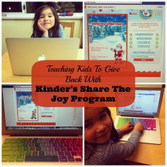 Teaching Kids To Give Back With Kinder's Share The Joy Program