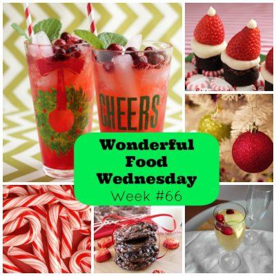 Wonderful Food Wednesday Link Party Week #66