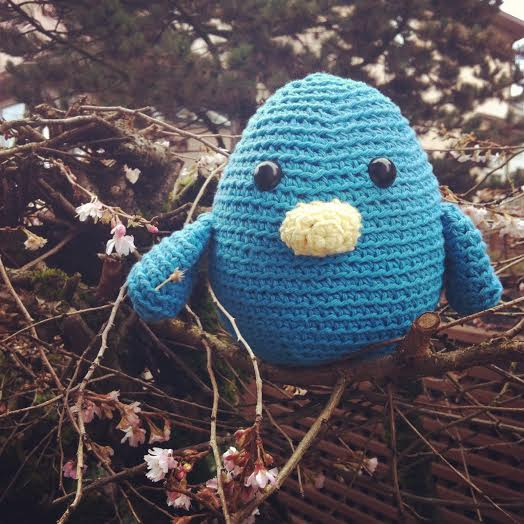 Blue Bird Amigurumi made by Sew Creative 3
