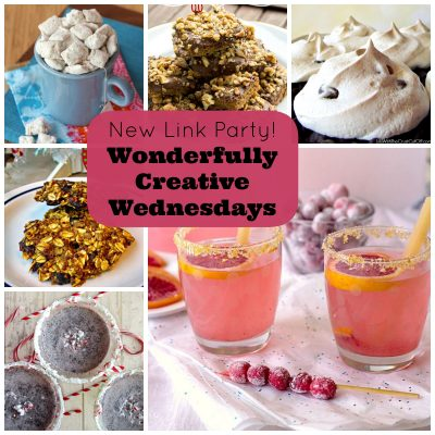 A New Link Party For Creative Bloggers- Wonderfully Creative Wednesdays