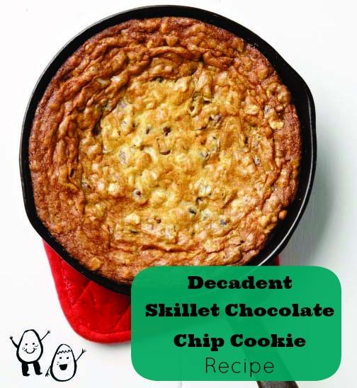 Skillet Chocolate Chip Cookie Recipe