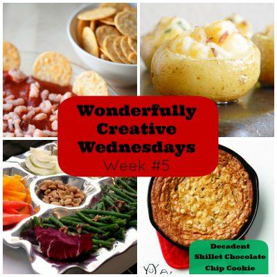 Wonderfully Creative Wednesdays Week 5