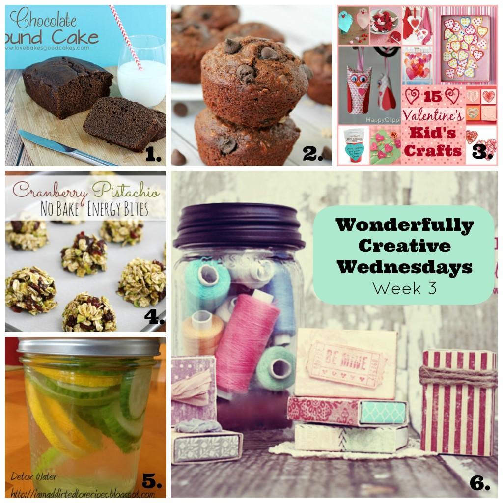 Wonderfully Creative Wednesdays Week 3