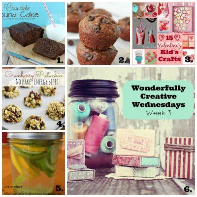 Wonderfully Creative Wednesdays Link Party Week 3