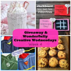 Wonderfully Creative Wednesdays Week 4 Plus a Craft and Cookbook Giveaway