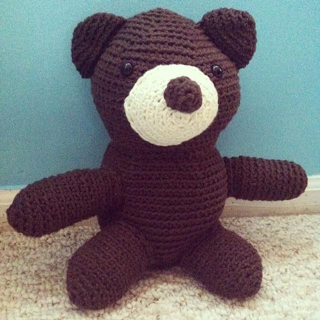 Amigurumi Big Bear : Amigurumi Teddy Bear