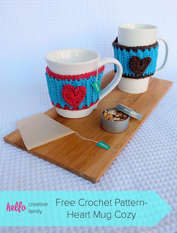 50 Easy Handmade Gift Ideas You'll Love: Crocheted Mug Cozy