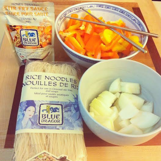 Honey Teriyaki Beef Ingredients