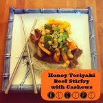 Honey Teriyaki Beef Stirfry Recipe from Sew Creative Blog and Blue Dragon #BlueDragonMom