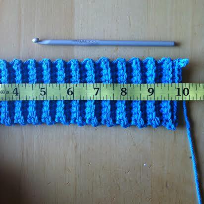 How to Crochet a Heart Mug Cozy Tutorial Step 2