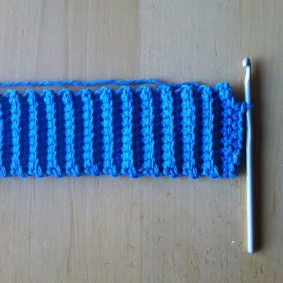 How to Crochet a Heart Mug Cozy Tutorial Step 3