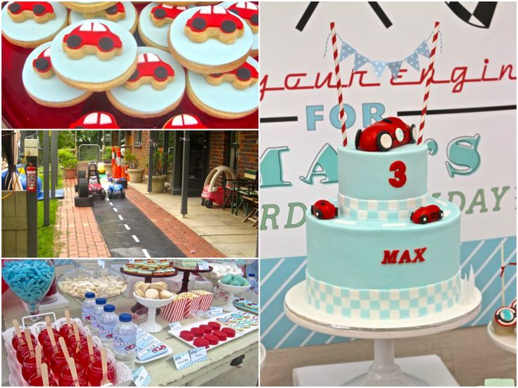 Little Red Racing Car Birthday Party