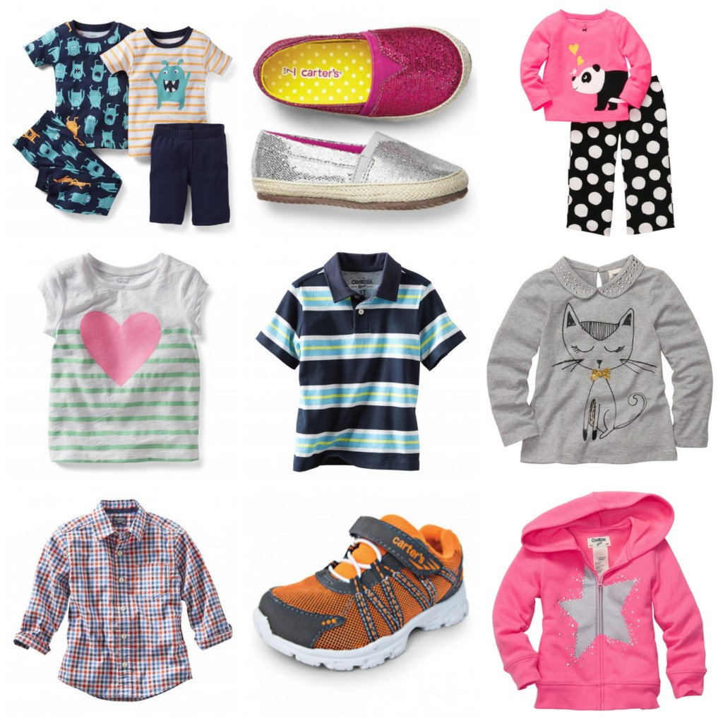 Sears Canada Osh Kosh and Carter's Kids Clothes