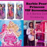 Sew Creative Barbie Pearl Princess VIP Screening & a
