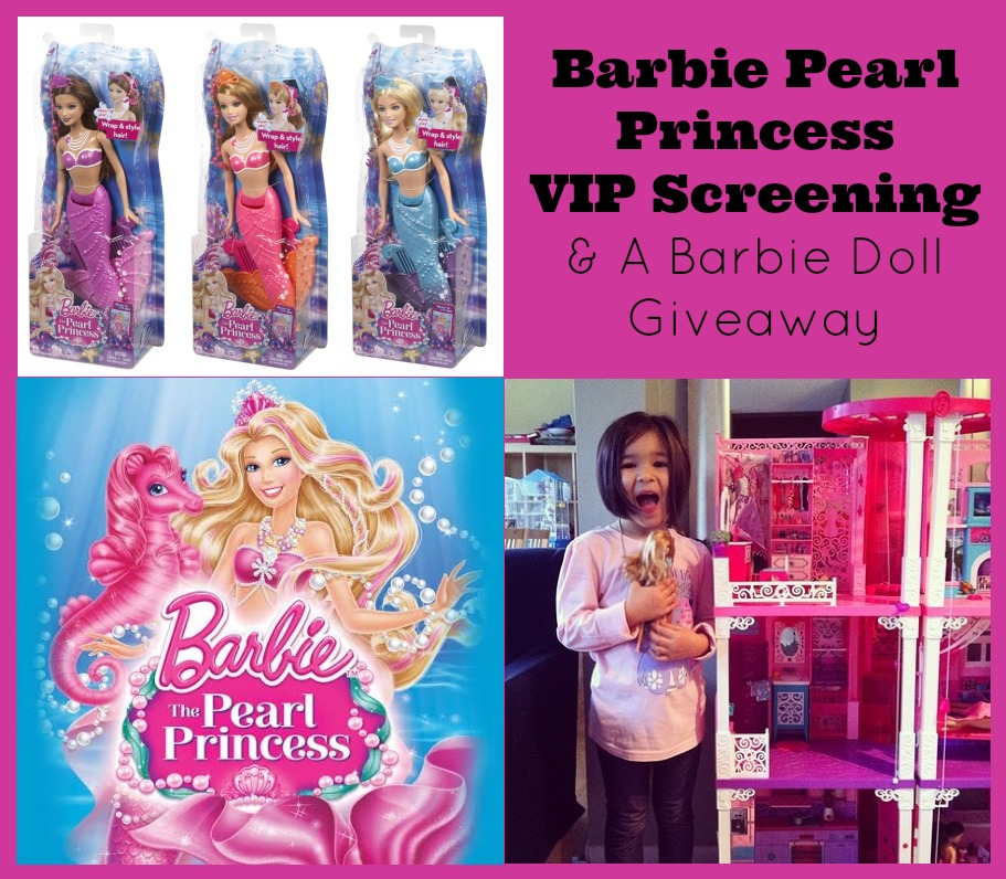 Barbie Pearl Princess VIP Screening and a Barbie Doll Giveaway ...