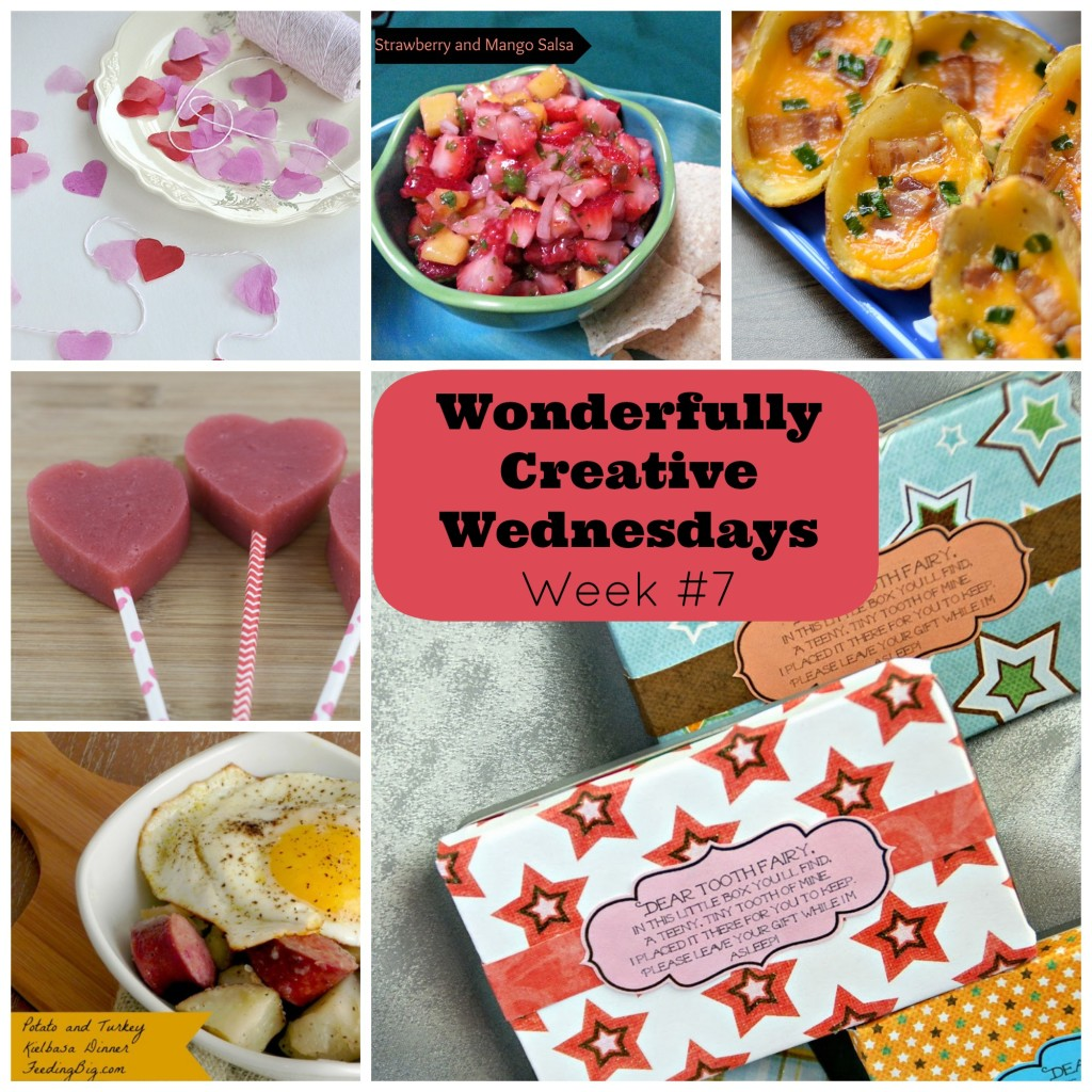 Sew Creative Blog's Wonderfully Creative Wednesdays Week 7 Link Party