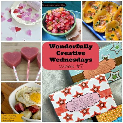 Wonderfully Creative Wednesday Link Party Week #7