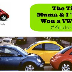 The Time Muma and I Almost Won a VW Beetle- #KinderMom