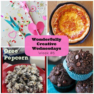 Wonderfully Creative Link Party Week #6