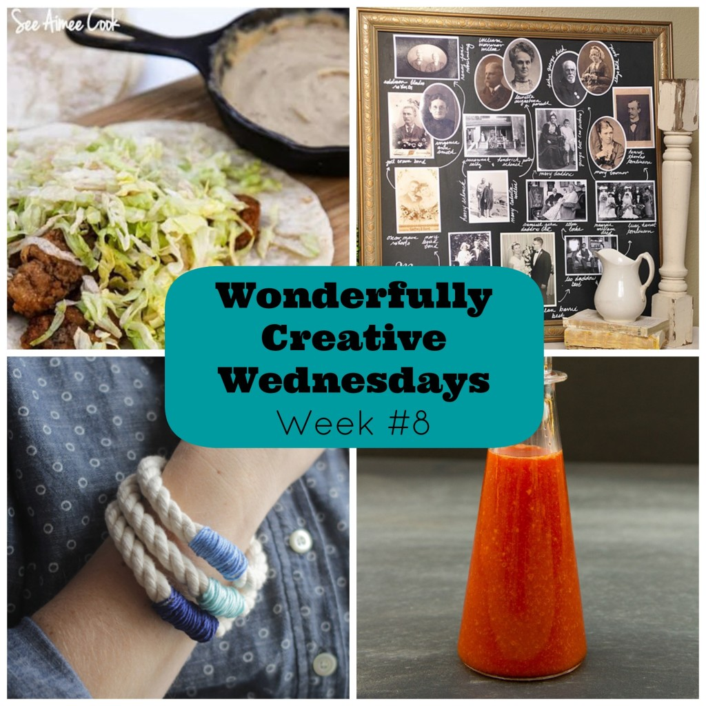 Wonderfully Creative Wednesdays Link Party Week 8