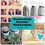 Wonderfully Creative Wednesdays Week 9 Features from Sew Creative
