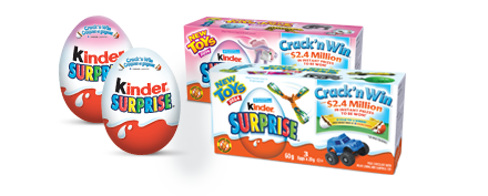 kinder crack n win