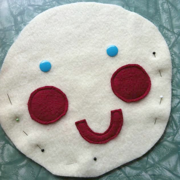 Mr Sun Fabric Buster Baby Toy Tutorial step 3