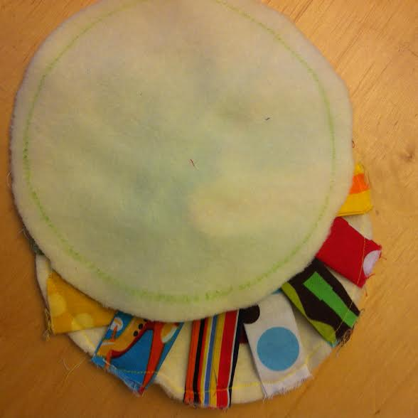 Mr Sun Fabric Buster Baby Toy Tutorial step 7