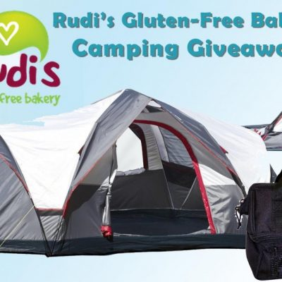 Rudi's Gluten-Free Bakery Camping Equipment Giveaway & Summer Camp for Celiac Kids