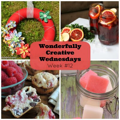 Share Your Creative Side at Wonderfully Creative Wednesday Link Party