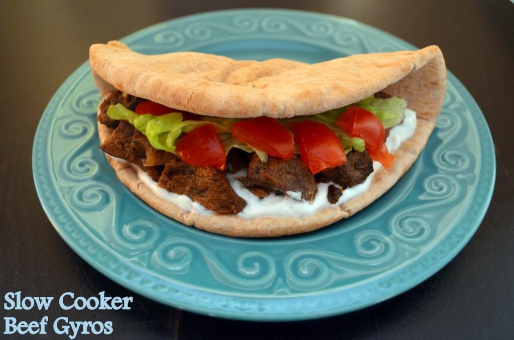Slow Cooke Beef Gyros