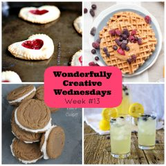 Share Your Creative Side at Wonderfully Creative Wednesdays Link Party Week 13