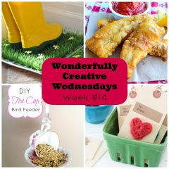 Wonderfully Creative Wednesdays Food and Craft Link Party Week 14