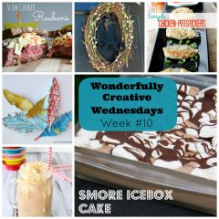 Share DIY, Craft and Recipe Posts at Wonderfully Creative Wednesdays Link Party