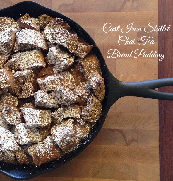 Cast Iron Skillet Chai Tea Bread Pudding.jpg