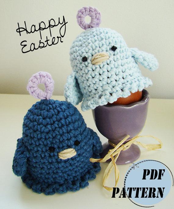 Amigurumi Egg Cozy : Weekly Inspiration- Adorable Easter Crochet Patterns ...