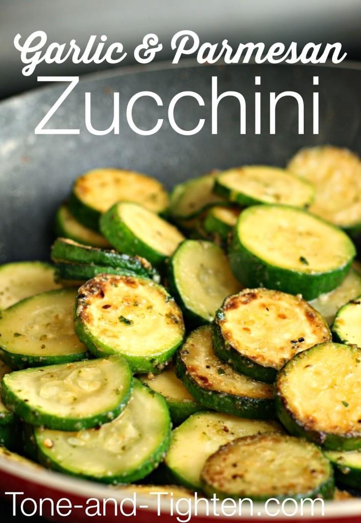 Garlic Parmesan Zucchini