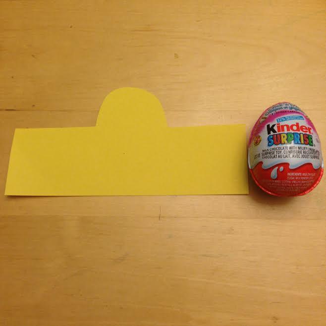 Kinder Easter Cutout