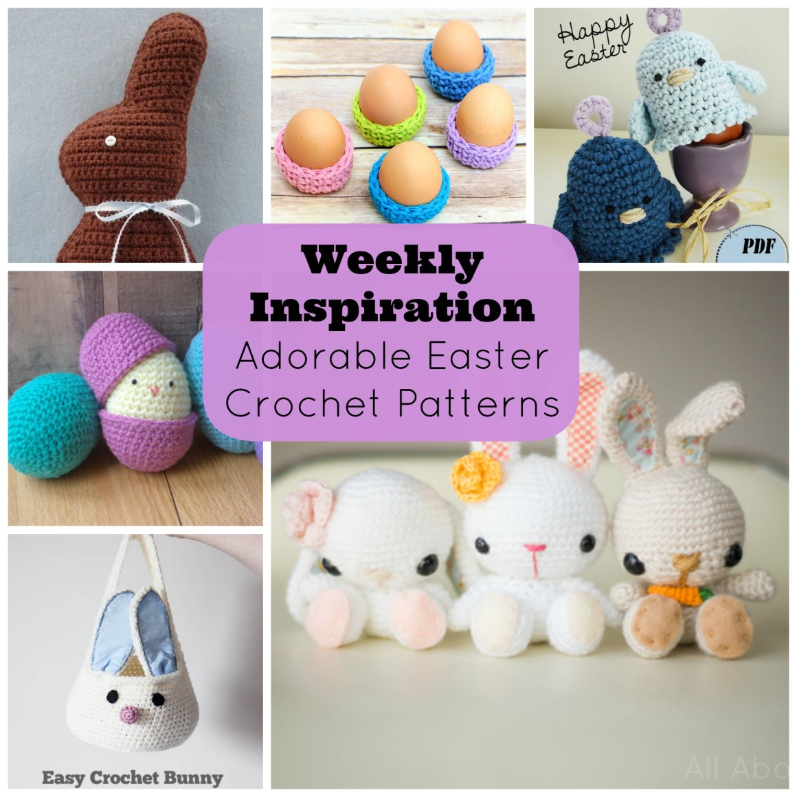 Weekly Inspiration Adorable Easter Crochet Patterns.jpg