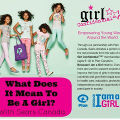What Does It Mean To Be A Girl? With Sears Canada