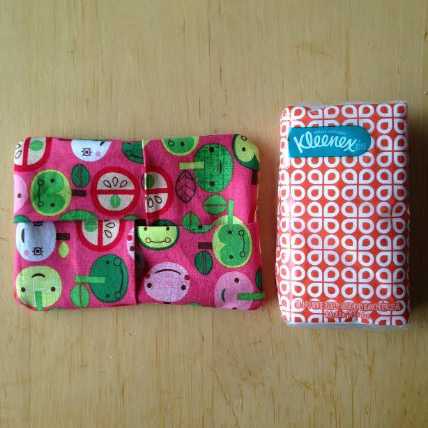 5 Minute Kleenex Holder Sewing Tutorial 7