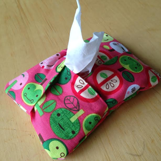 Knitting Pattern Tissue Holder : 5 Minute Kleenex Holder Sewing Project Perfect for ...