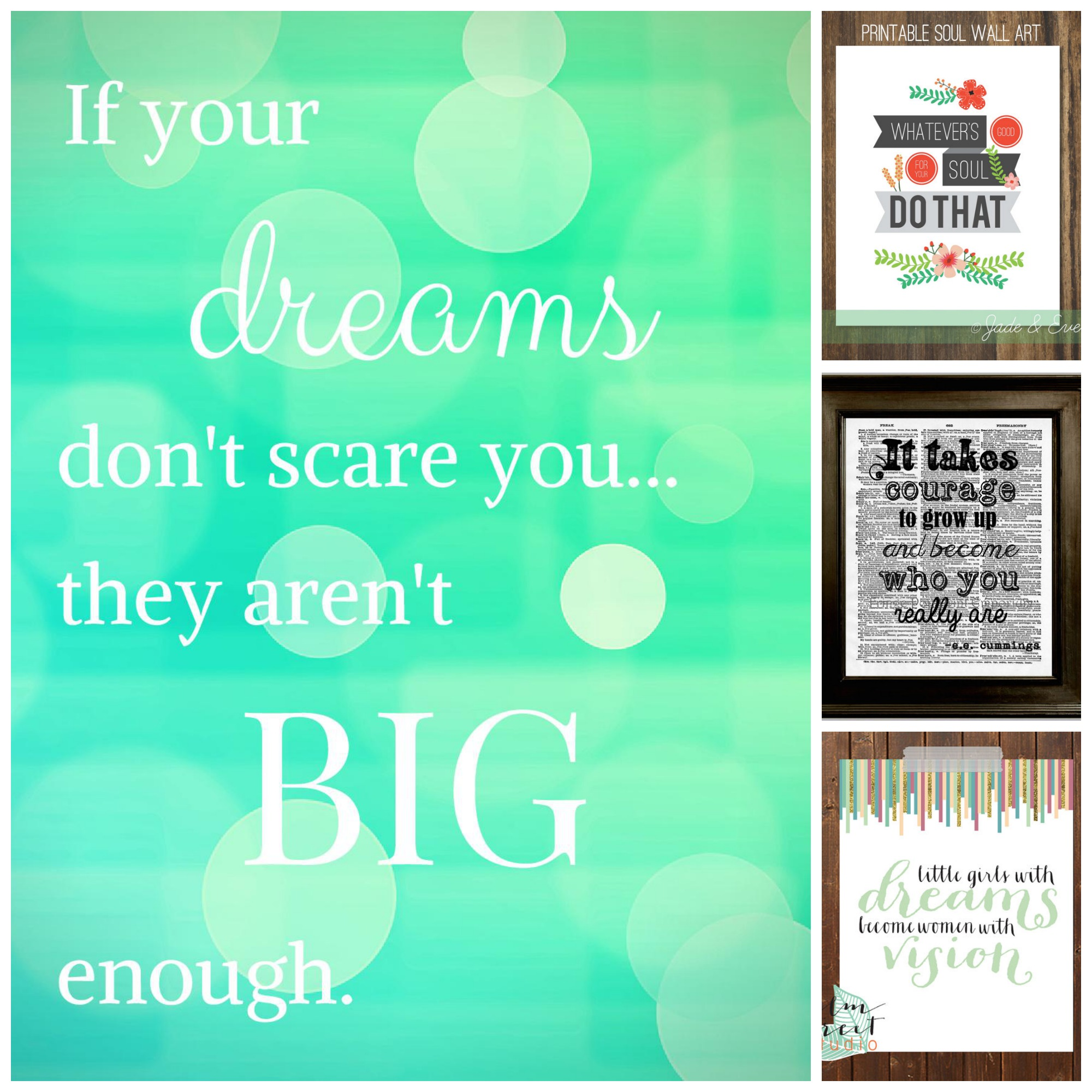 A Dream Is A Wish Your Heart Makes! 5 Inspiring Prints and ...