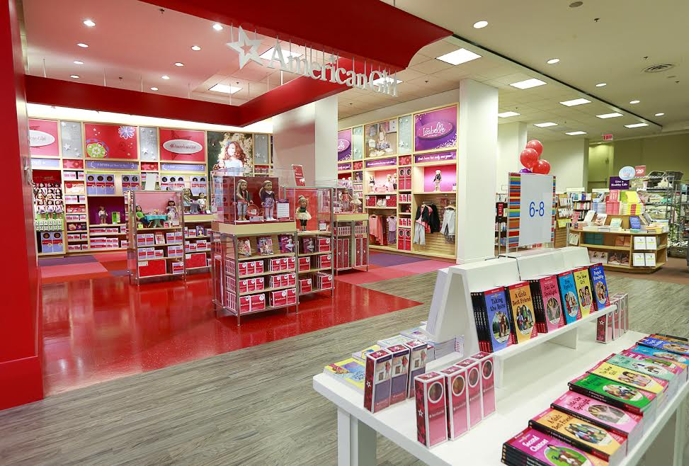 American Girl store at Chapters robson